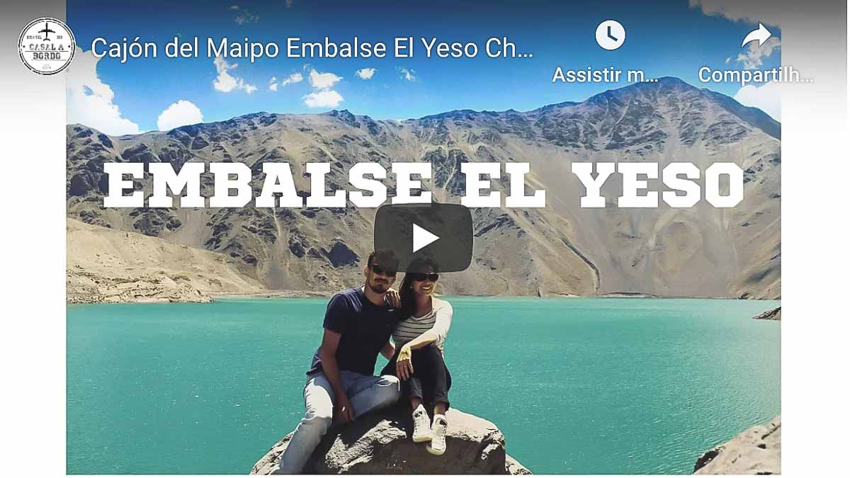 Video de Embalse El Yeso Passeio