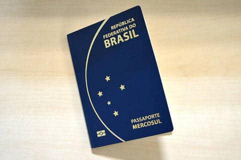 Novo modelo de passaporte brasileiro