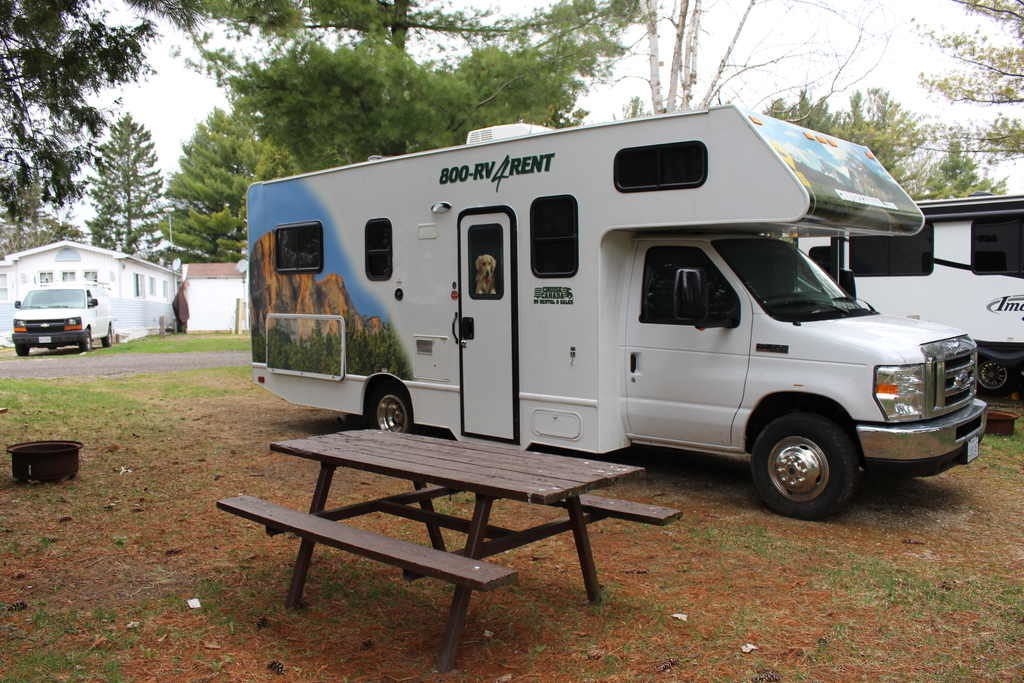 MotorHome Camping RV