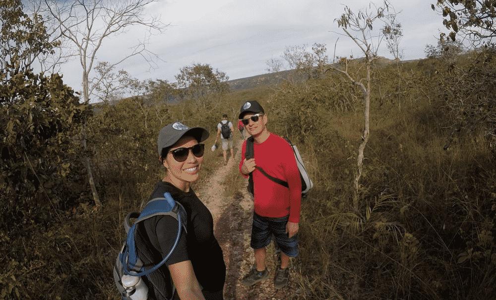 Chapada dos guimarães trilha crista de galo