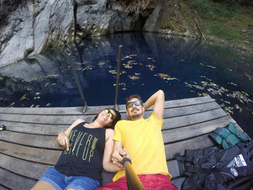 Tablado na Dolina Água Milagrosa