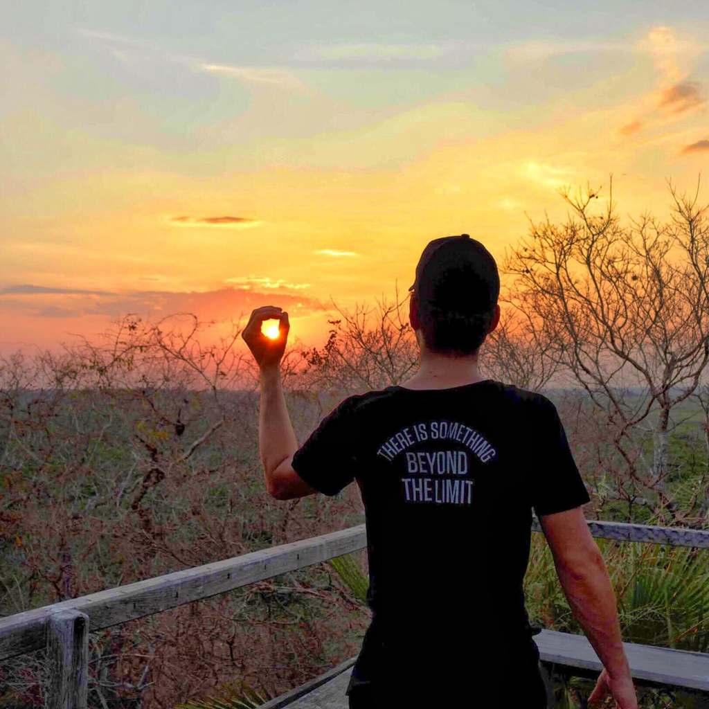 pantanal pôr do sol