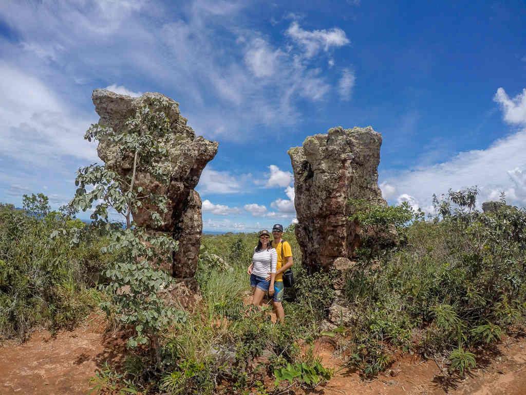 entrada cidade de pedra