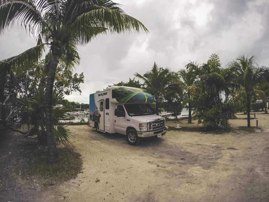 Boyd's camping ground Flórida RV