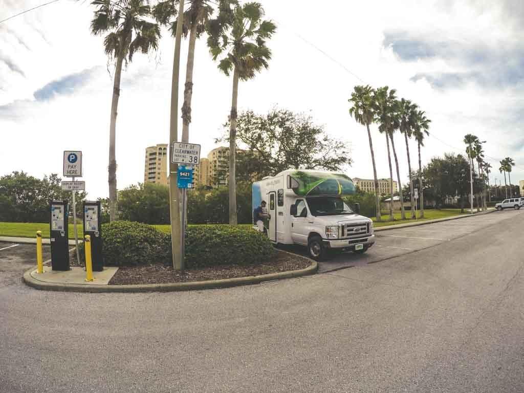 Estacionamento Cleawater Flórida