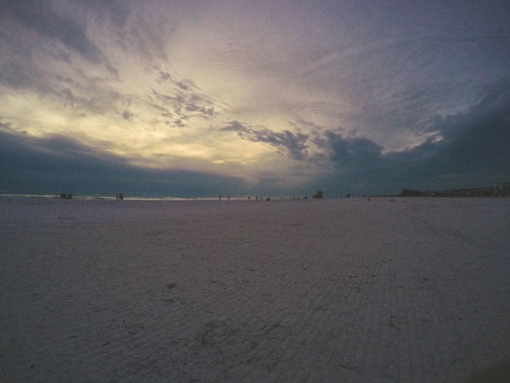 Pôr do Sol em cleawater Flórida