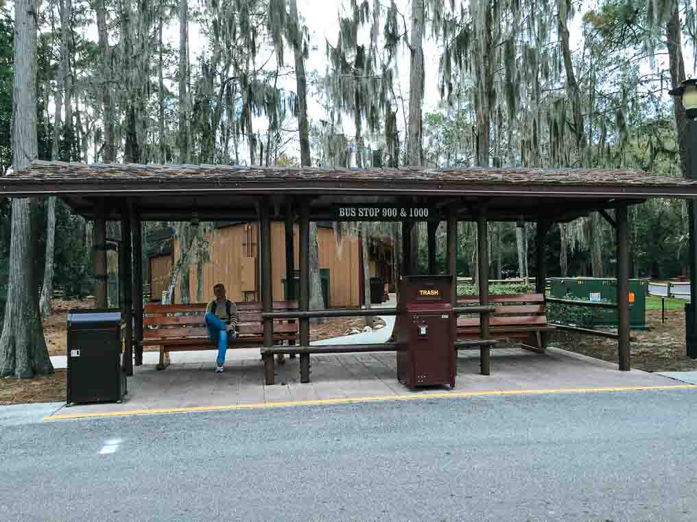 Bus Stop The Campsites at Disney's Fort Wilderness Resort
