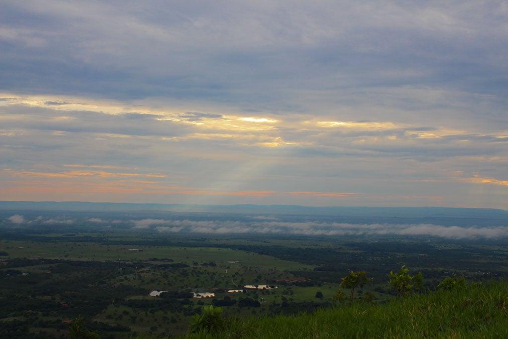 Morro de Santo Antonio nascer do sol