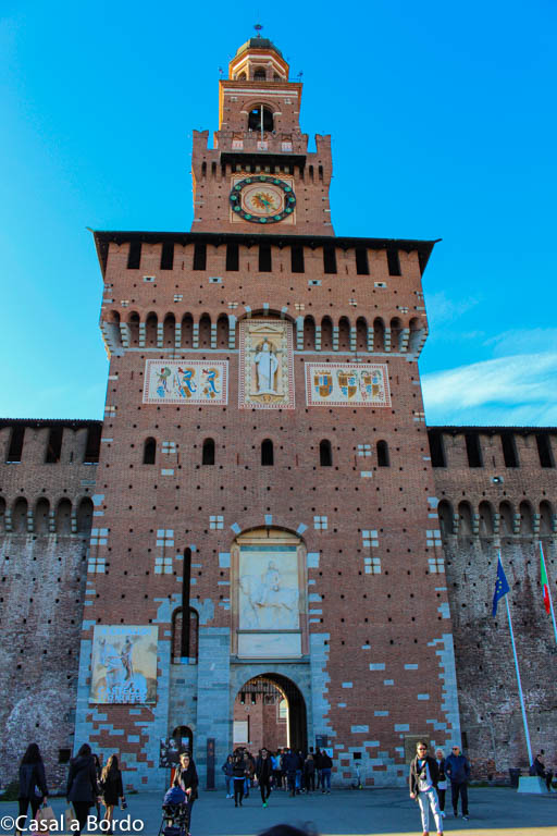 TORRE DO CASTELO SFORZESCO
