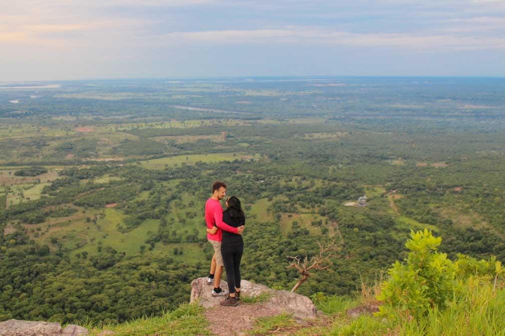 Vista de Cuiabá do Morro de Santo Antonio