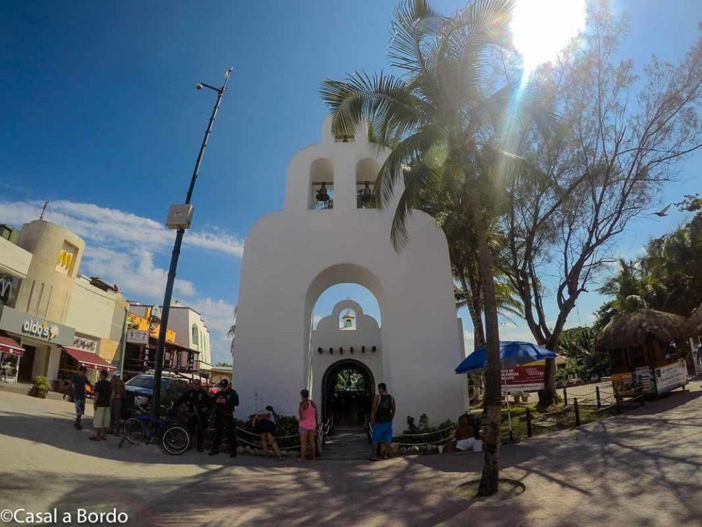 Capilla de Nuestra Señora del Carmen centro da cidade, capela antiga