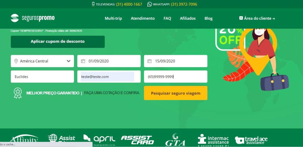 site Seguros Promo